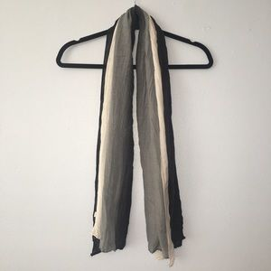 Accessories - 100% viscose 3 colored lightweight scarf